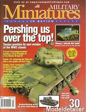 Military Miniatures In Review 30, Tamiya Pershing Marder Achilles T-72M1 LVTA1