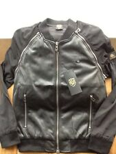883 Police 'Corbet' Black Jacket, New, Authentic, Size 40