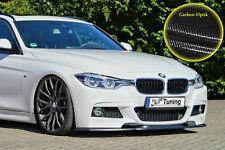 Spoilerschwert Frontspoiler Lippe ABS BMW 3er F30 M-Paket mit ABE Carbon Optik