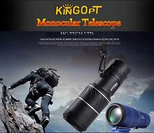 UK kingopt 30X52 Dual Focus Zoom VERDE Optic Lens viaggio utilizzati delle parti Telescopio