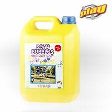 Liquido professionale bolle di sapone giganti 5 litri Tuban 336031