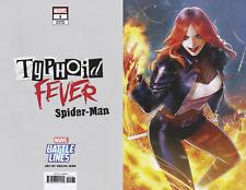 Typhoid Fever Spider-man #1 Heejin Battle Lines Variant Comic Book 2018 - Marvel
