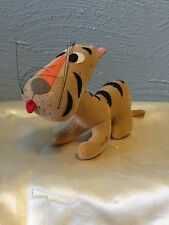 Vintage Disney Sears Stuffed Animal Wood Saw Dust Tigger