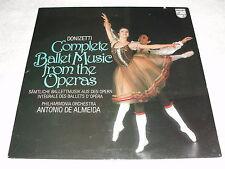 "De Almeida ""Donizetti: Ballet Music From The Operas"" 1979 LP, SEALED!, Philips"