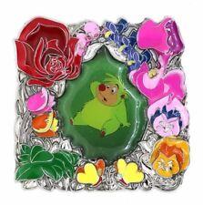 2017 Disney Flower Frame Version 4 Hedgehog LE-500 Pin Rare W4