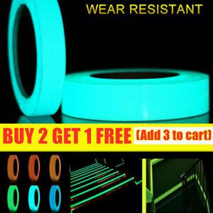 1M Luminous Tape Self Adhesive Glow In The Dark Wall Sticker Fluorescent Light +