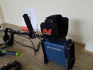 Minelab GP3000 metal detector - Starting bid a crazy 0.99c!!!