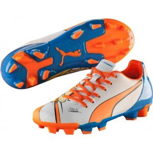Puma evoPower 4.2 POP FG Jr Soccer Cleats Size 4 Youth/ Junior
