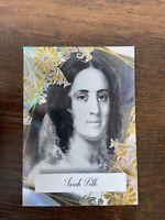 2020 POTUS THE FIRST 36 SARAH POLK AURORA EPIC INSERT CARD, 06/10