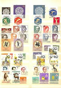 [OP2003] Europe lot of stamps on 12 pages