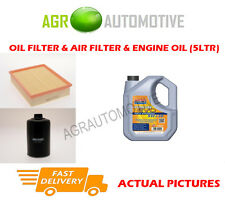 DIESEL OIL AIR FILTER + LL 5W30 OIL FOR VOLKSWAGEN PASSAT 1.9 110 BHP 1997-99