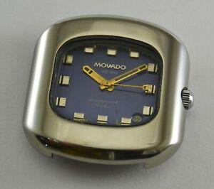 Vintage Movado Kingmatic Video HS 360 Sub Sea Automatic Men watch Swiss