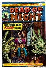 DEAD of NIGHT # 2 1974 Reprints Adventures into Weird Worlds 17 High grade