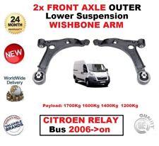 FOR CITROEN RELAY VAN BUS 2.0 2.2 3.0 HDI 2006--/> 2X REAR AXLE BRAKE CALIPER SET