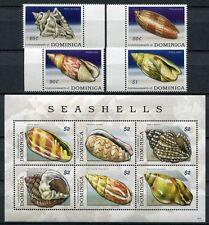 Dominica 2009 Muscheln Shells Meerestiere 3957-3966 Postfrisch MNH
