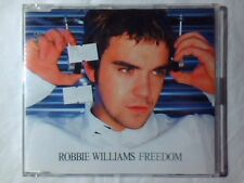 ROBBIE WILLIAMS Freedom cd singolo ITALY 4 TRACKS TAKE THAT