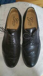 Gatti made in Italy   Vollleder Plain Derby Business Herrenschuhe Gr.45 Schwarz