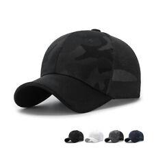 Herren Baseball Kappe Damen SPORTS Hut Tarnfarbe Netz Visier Hut Verstellbar