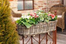 Blumenkasten Balkon-Pflanzer Balkonkasten Rattan Blumenkästen Pflanzkübel Hänger