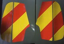 REFLECTIVE SAFETY CHEVRONS FOR HONDA PAN EUROPEAN ST1300 STICKERS