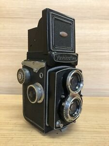 *Near Mint -* Yashica Yashicaflex Model C TLR Camera 80mm F/3.5 Lens From Japan