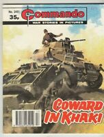 COMMANDO COMIC - No 2451  COWARD IN KHAKI