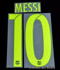 Barcelona Messi 10 2016-17 Football Shirt Name/Number Set Sporting ID Adult T