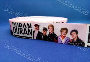 Duran Duran 80's Boyband music satin Cake/craft/hair ribbon @ MrsMario's