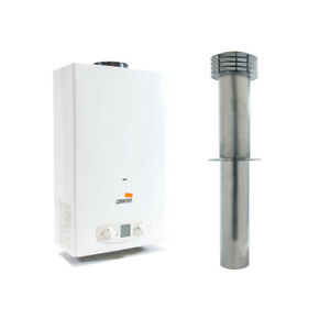 STATIC CARAVAN Cointra 11 Litre LPG Water Heater with flue KIT Morco replacement