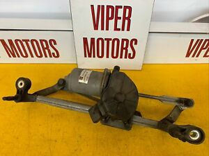 Vauxhall Corsa D Front Wiper Motor And Linkage Valeo 13182342 06-14