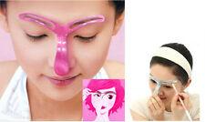 Professional Makeup Eyebrow Stencil Shaping Grooming Tools DIY Beauty Cosmetics