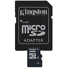 Kingston 16GB MicroSD Mobile Phone Memory Card