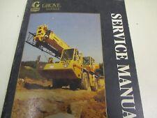 heavy equipment manuals books for grove crane ebay rh ebay com