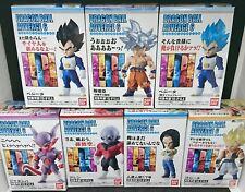 BANDAI DRAGON BALL Z Super ADVERGE 6 Mini Figure All 7 sets NEW F/S Japan import
