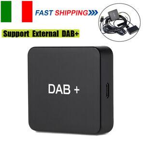 DAB 004 DAB+Box Radio digitale Antenna Tuner Trasmissione FM Alimentato USB O9A3