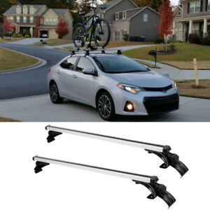 """For Toyota Corolla Camry 48"""" Top Roof Rack Cross Bar Luggage Cargo Carrier Rail"""