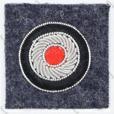 Bullion Cockade Luftwaffe Officer Blue - Repro WW2 Pilot German Badge Cap Hat