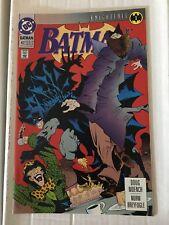 Batman #492 NM Condition Batman DC Comic Book 1993 Knightfall