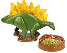100 Genuine Nachosaurus Nacho Server DIP and Snack Serving Dish Set Dinosaur