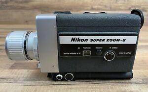 Vintage Nikon Super Zoom 8 Movie Film Camera Untested