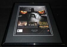 Killzone Liberation 2006 PSP Framed 11x14 ORIGINAL Advertisement