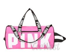 VICTORIA'S SECRET PINK SPORT DUFFLE GYM BAG - PINK