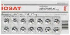New IOSAT 14 Tablets Potassium Iodide Pills KI Radiation Protection FDA Approved
