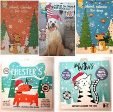 Christmas Advent Calendar Pet Dog Cat  Good Boy Novelty Festive Treats 2 Choices