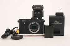 Nikon 1 V1 10.1 MP Mirrorless Digital Camera Body; BL 412165