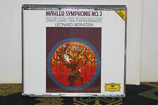 Mahler: Symphony No 3/ Leonard Bernstein 1989 2 CD Set Germany