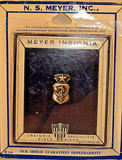 US Air Force Chief Nurse Badge Insignia Pin Oxidize Metal