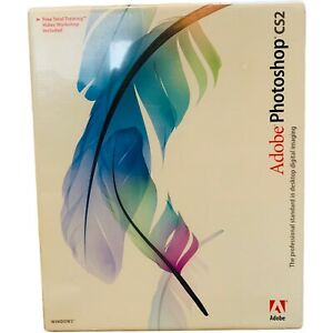 Adobe PhotoShop CS2 WINDOWS Image Editing Software US VERSION - FACTORY SEALED