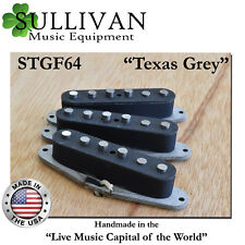 Stratocaster Custom Shop Pickups Hand Wound Texas Grey fits Fender Strat STGF64