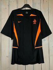 2002/2003 Netherlands Holland KNVB Away Football Shirt Soccer Jersey Nike